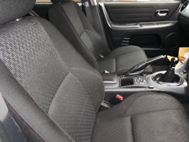 SEATS OF SXE10 ALTEZZA RS200 Z-EDITION.