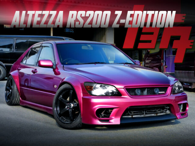 WIDEBODY And CAMBER OF ALTEZZA RS200 Z-ED to PURPLE.