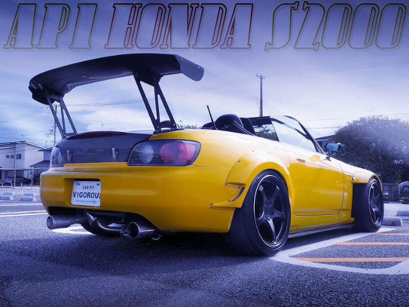 WIDEBODY MODIFIED AP1 HONDA S2000.