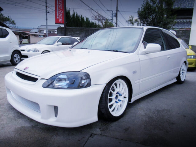 FRONT EXTERIOR OF EK9 KOUKI CIVIC TYPE-R.