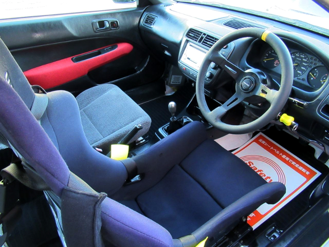DASHBOARD OF EK9 KOUKI CIVIC TYPE-R.