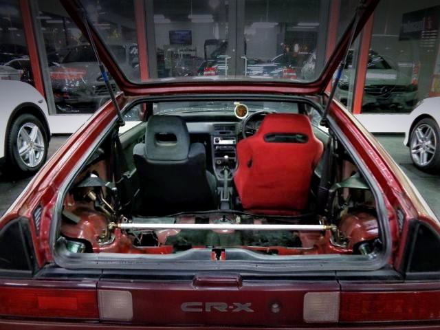 HATCH OPEN OF EF8 CR-X SiR.