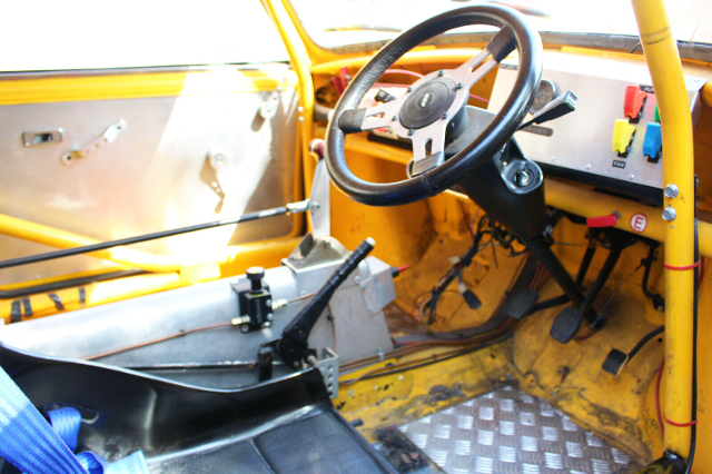 CUSTOM DASHBOARD AND ROLL CAGE.