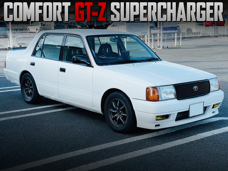XT-07 SUPERCHARGED 3S-FE into COMFORT GT-Z SUPERCHARGER.