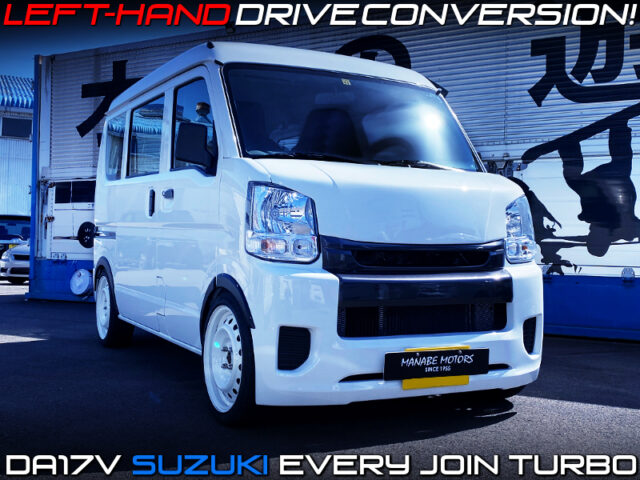 LEFT HAND DRIVE CONVERSION to DA17V EVERY JOIN TURBO,