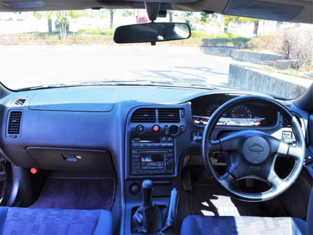 INTERIOR of ECR33 SKYLINE 2-DOOR GTS25t TYPE-M SPEC-I.