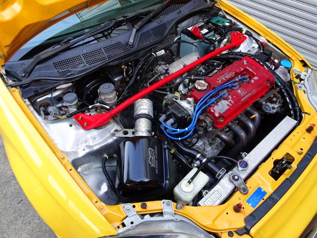 B16B 1600cc VTEC ENGINE.
