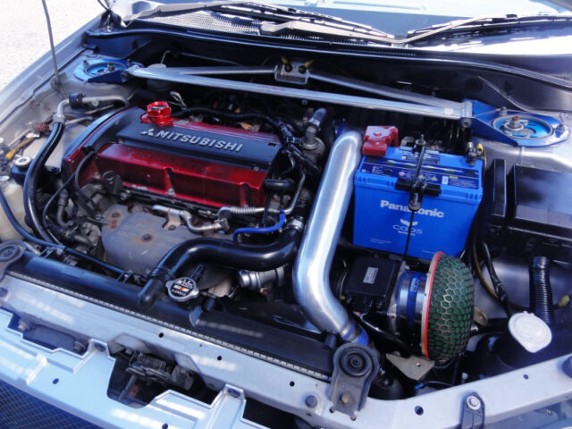4G63T with HKS GT2-7460 TURBO.