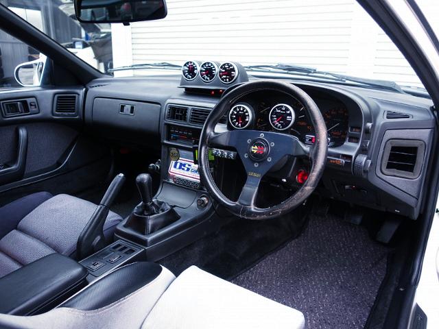 DASHBOARD OF FC3S SAVANNA RX-7 GT-X.