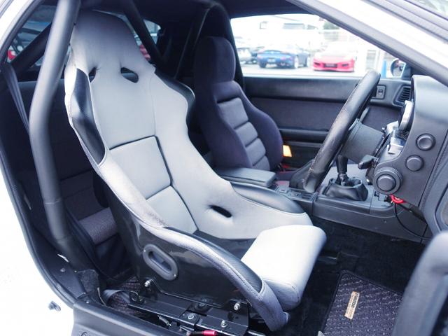 DRIVER'S FULL BUCKETSEAT OF FC3S SAVANNA RX-7 GT-X.
