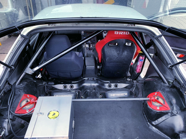 ROLL CAGE INSTALLED FC3S RX-7 infini-III.