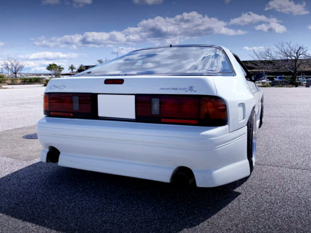 REAR EXTERIOR OF FC3S RX-7 inifini-III WIDEBODY.