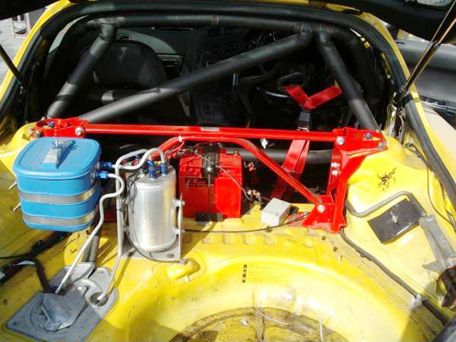 LUGGAGE SPACE OF FD3S RX7 TYPE-RS-R.