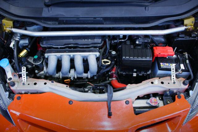 J's RACING L15A HIGH-COMPRESSION i-VTEC ENGINE.