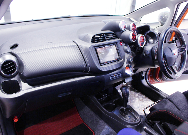 DASHBOARD of GE8 FIT RS.