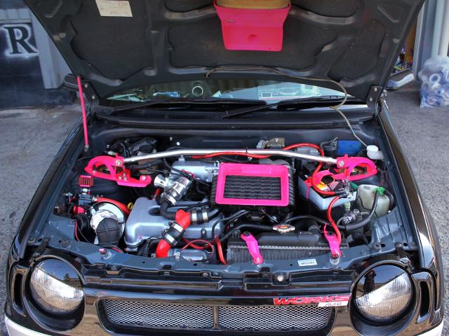 K6A DOHC TURBO ENGINE.