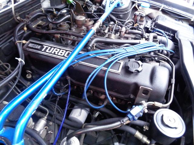 NISSAN L20ET 2.0L OHC TURBO ENGINE.