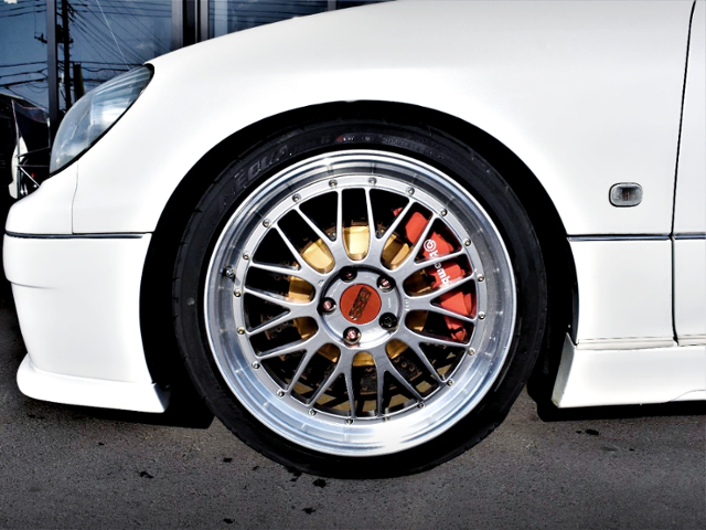 FRONT Brembo and BBS LM WHEEL.