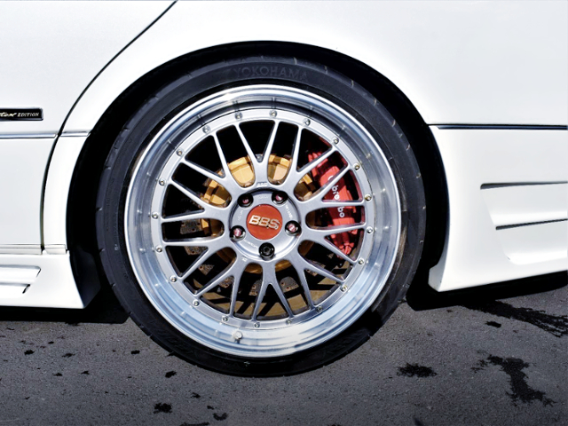 REAR Brembo and BBS LM WHEEL.
