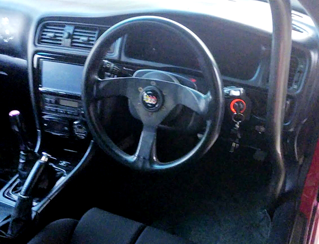 DASHBOARD OF JZX100 CHASER.