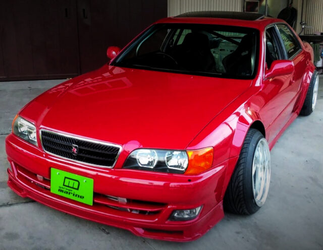 FRONT FACE OF JZX100 CHASER WIDEBODY.