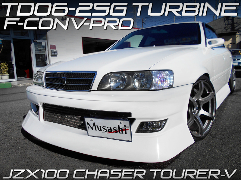TD06-25G TURBOCHARGED JZX100 CHASER TOURER-V.
