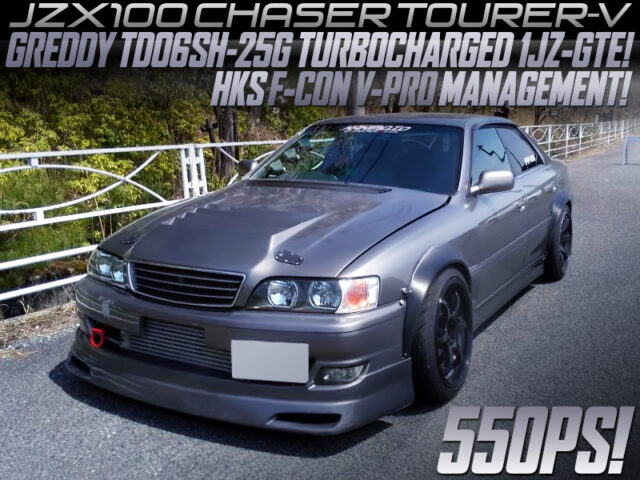 550PS TD06SH-25G TURBOCHARGED JZX100 CHASER.
