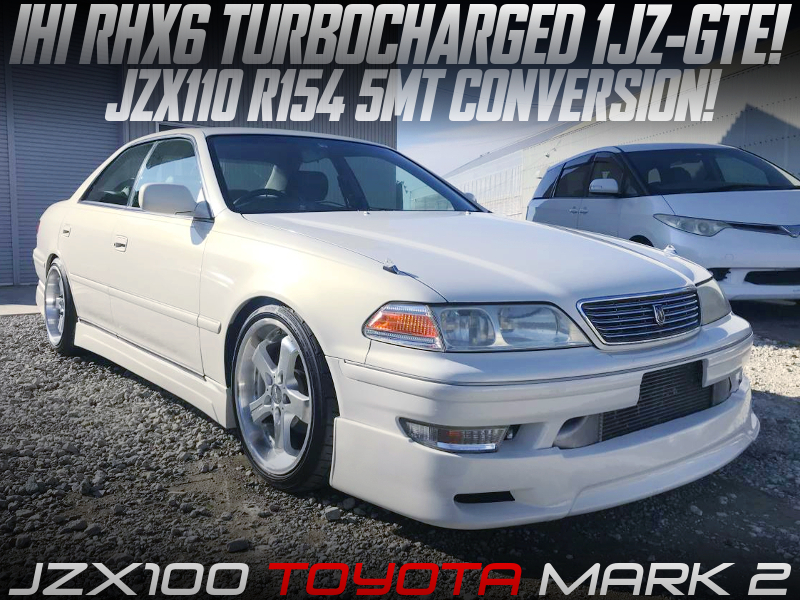 IHI RHX6 TURBOCHARGED JZX100 MARK 2.