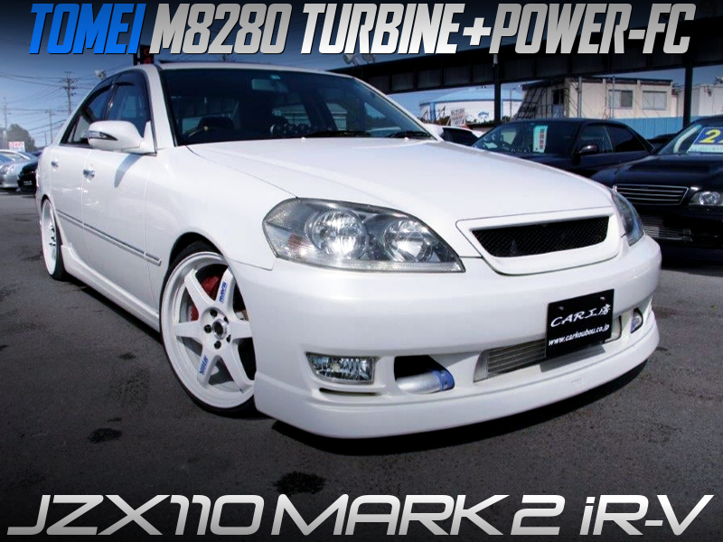 TOMEI M8280 TURBINE with POWER-FC into JZX110 MARK 2 iR-V.