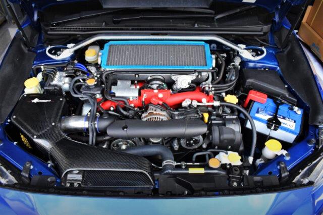 EJ20 BOXER TURBO ENGINE with HKS GT3 TURBINE.