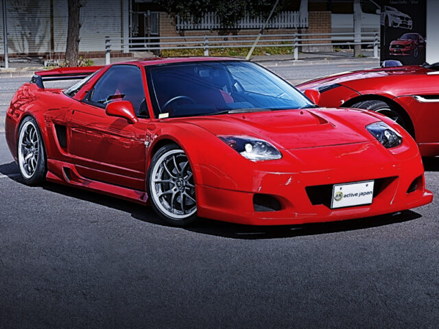 FRONT EXTERIOR OF NA1 NSX WIDEBODY.