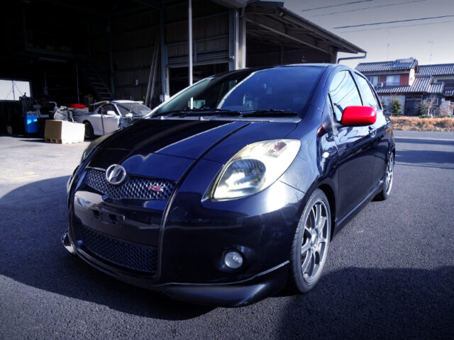 FRONT EXTERIOR OF NCP91 VITZ RS.