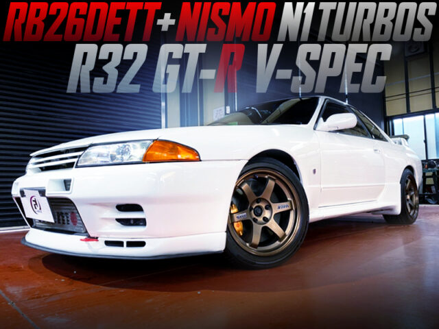 NISMO N1 TWIN-TURBOCHARGED R32 GT-R V-SPEC to WHITE.