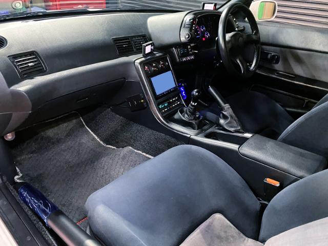 DASHBOARD OF R32 GT-R V-SPEC.