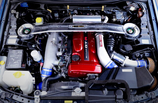 RB26 2.7L and HKS GT-SS TWINTURBO.