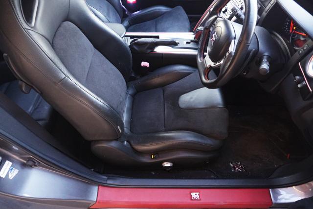 INTERIOR OF R35 GT-R Premium ED.