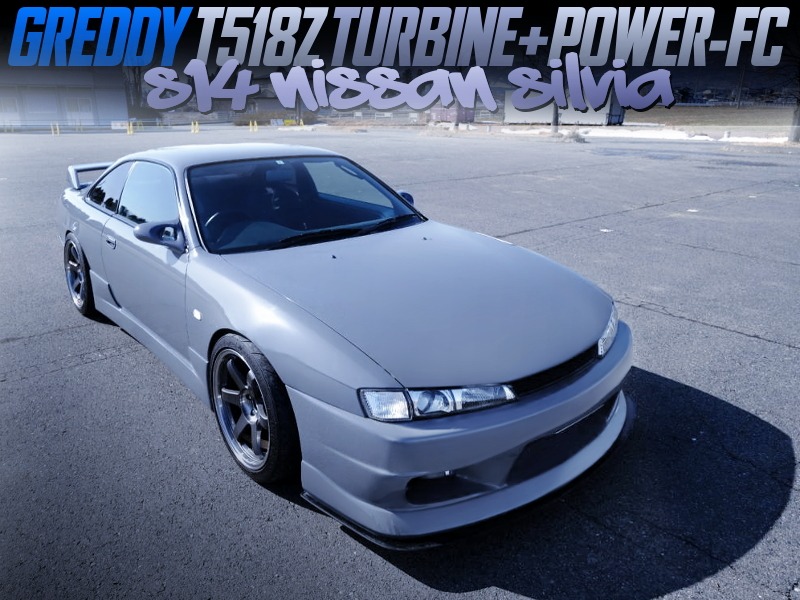 T518Z TURBOCHARGED S14 KOUKI SILVIA.