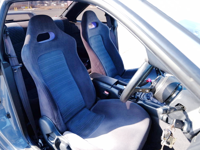 R33GT-R FRONT SEAT CONVERSION to S14 SILVIA.