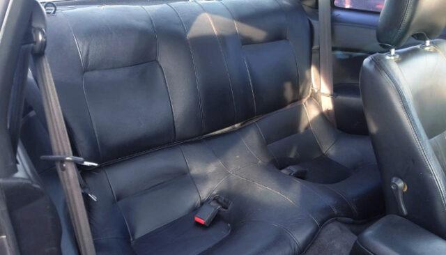 BACKSEAT of S14 240SX.