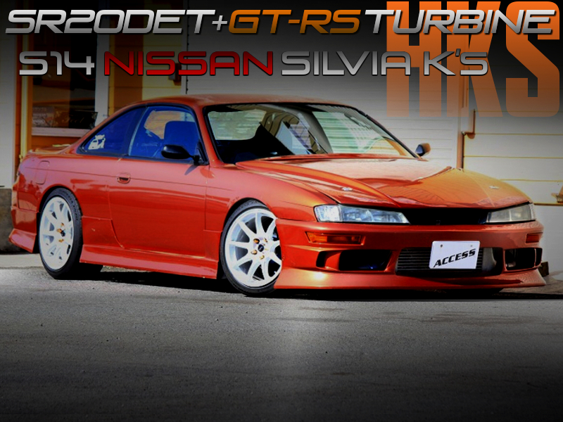 HKS GT-RS TURBOCHARGED S14 KOUKI SILVIA K's.