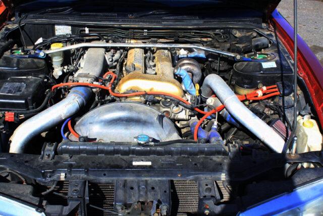 SR20DET with HKS GT-RS TURBINE.