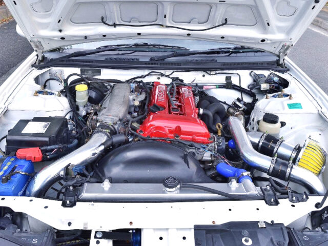 SR20DET with 2.2L KIT and GT2871R TURBO.