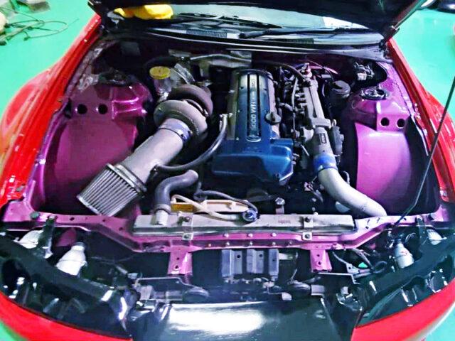 2JZ-GTE ENGINE SWAP with GREDDY SINGLE TURBO.