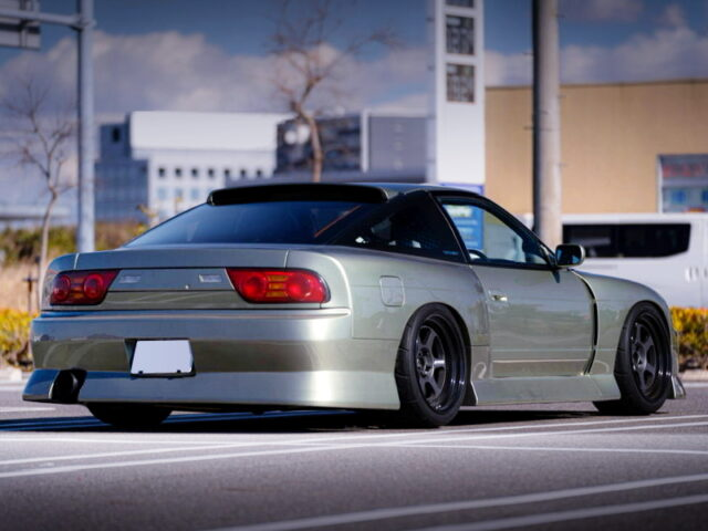 REAR EXTERIOR OF S13 SILEIGHTY WIDEBODY.