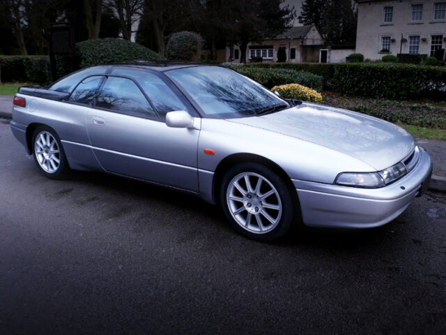 FRONT SIDE EXTERIOR OF SUBARU SVX to SILVER.