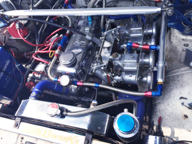 A12 1.2L ENGINE with OER45 CARBS.