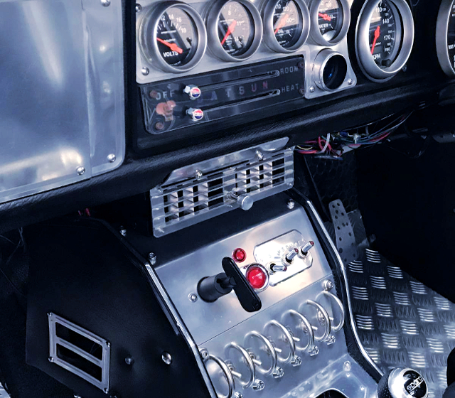 CENTER CONSOLE and GAUGES.