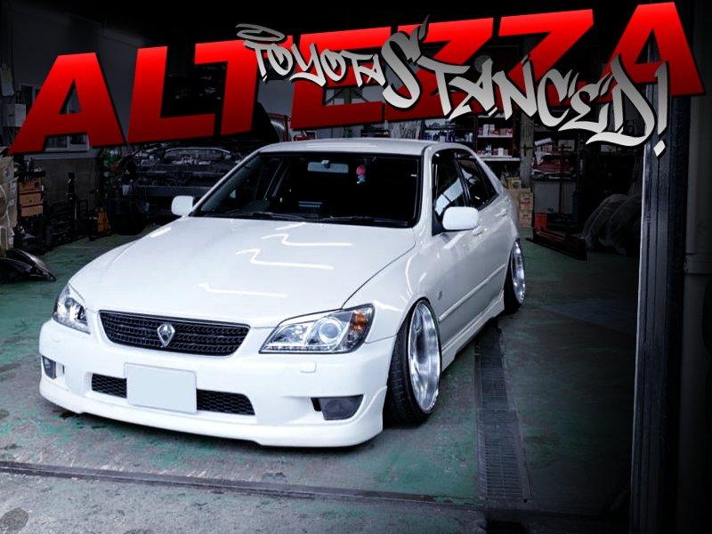 STANCED SXE10 ALTEZZA RS200 Z-EDITION.