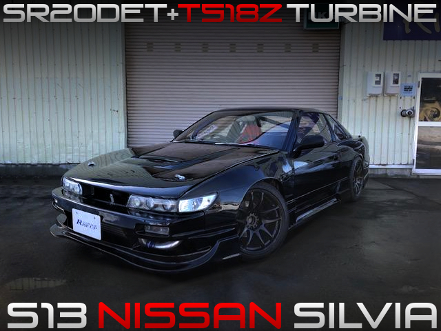 T518Z TURBOCHARGED S13 SILVIA.