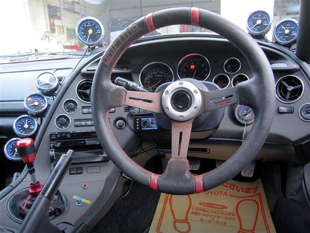 DRIVER'S DASHBOARD OF JZA80 SUPRA RZ.